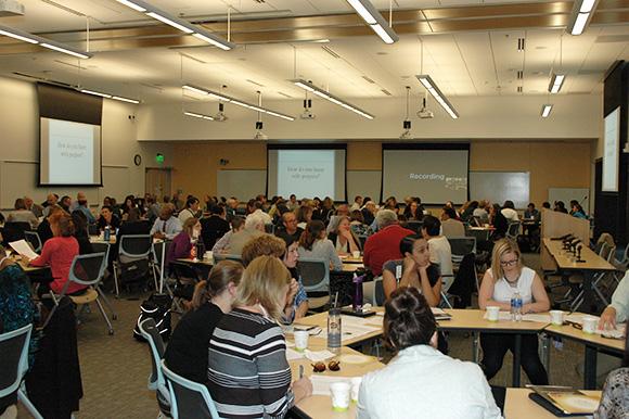 Undergraduate Experience Symposium breakout sessions