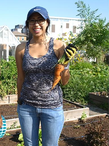 CU Denver student Martha Chavez