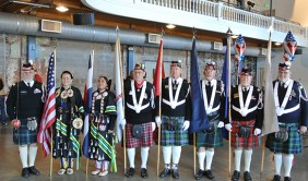 Sister Nations Color Guard and Scottish American Military Society