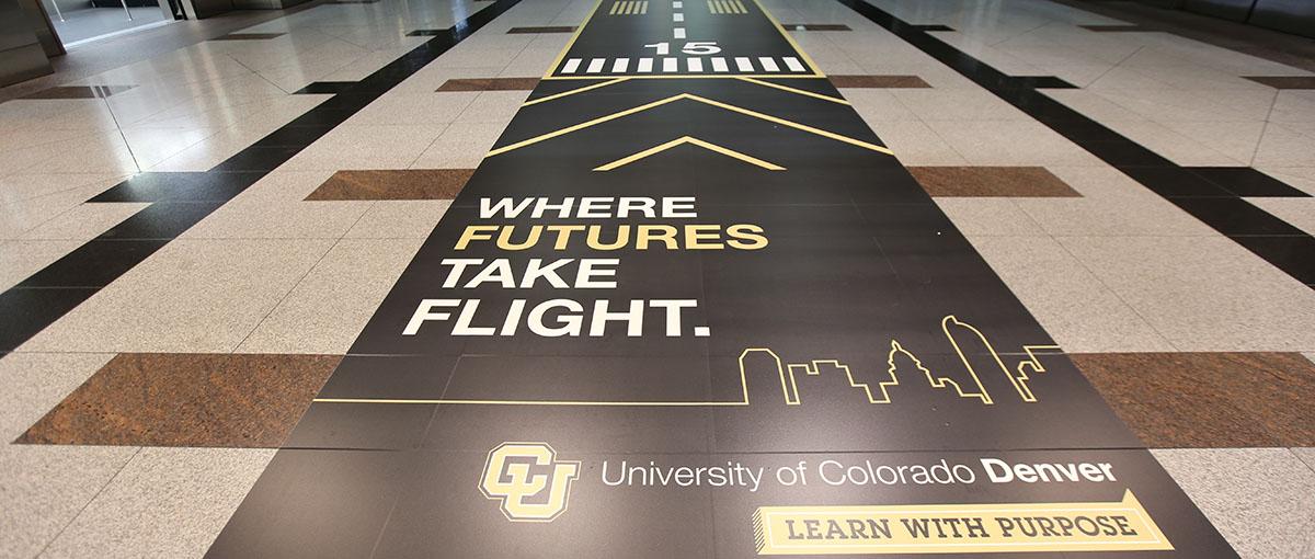 CU Denver runway at DIA