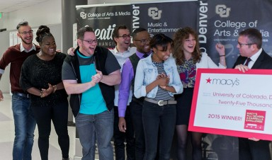 CU Denver MIX receives top prize in the Macy's A Cappella Challenge.