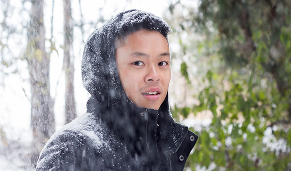 Duy Andy Le graduates from CU Denver this fall