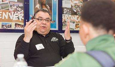 CU Denver Vice Chancellor for Student Affairs Raul Cardenas