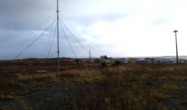 CU Denver antenna installed in Alaska