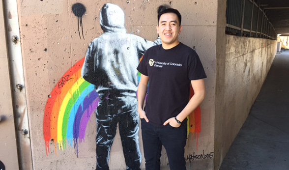 CU Denver student Ben Thao