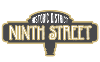 Sign for Ninth Street Historic District