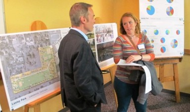 CU Denver students presented their findings to the City of Lakewood on April 27.