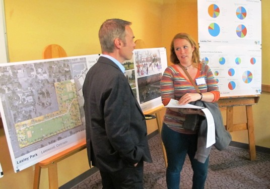 CU Denver students presented their research to Lakewood officials on April 27.