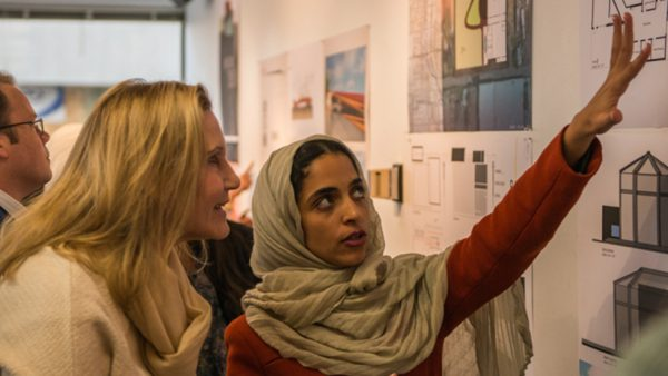 Rahaf Al Muzaini presents her work at CU Denver College of Architecture and Planning