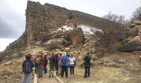Ruins at Castlewood Canyon State Park