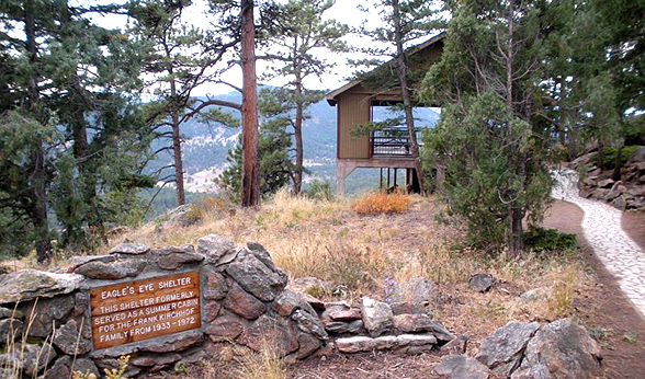 Shelter at Mount Falcon Park