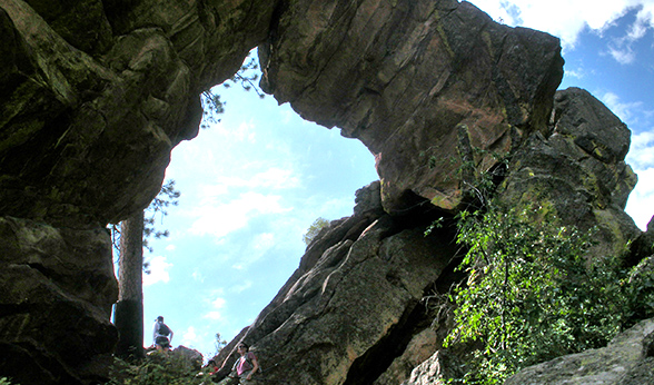 Royal Arch in Boulder
