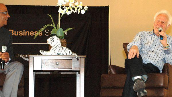 Jake Jabs speaks at CU Denver event