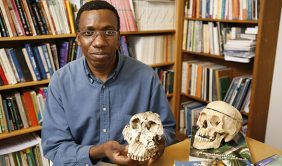 CU Denver anthropology Associate Professor Charles Musiba