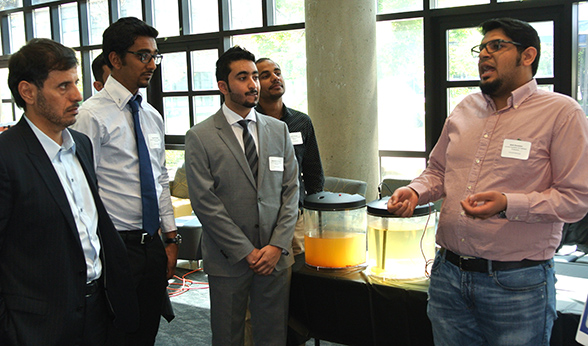 Qatar Prime Minister at Senior Design Competition
