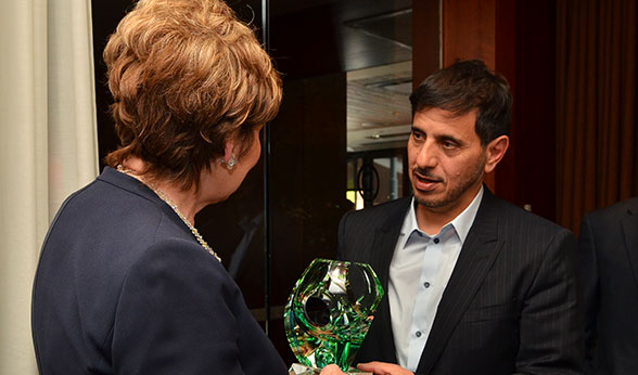 Gift given to Qatar Prime Minister