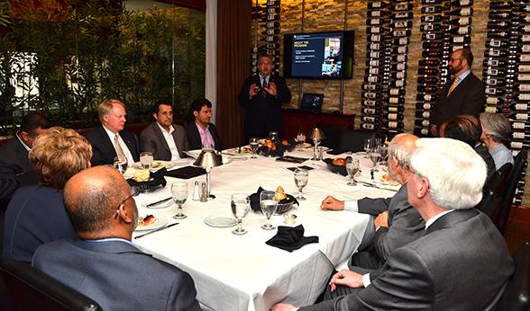 NCMF presentation to Qatari leaders