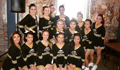 CU Denver Cheer Team