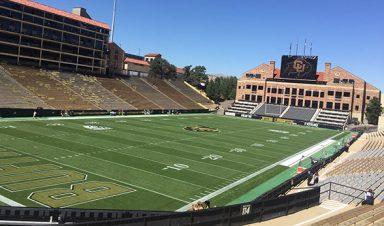 Folsom Field at CU Boulder