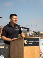 CU Denver student Scott Cao