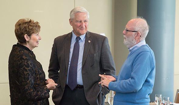 Dorothy Horrell, David Engelke and Robert Damrauer