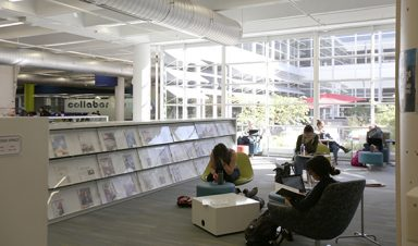 Auraria Library study space
