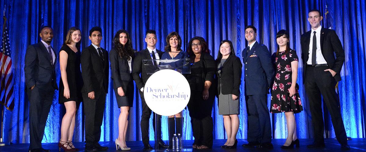 Ten scholarship winners