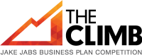 Logo for THE CLIMB: Jake Jabs Business Plan Competition