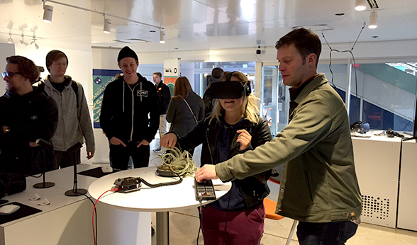 Virtual reality at Next Stage Collaborative