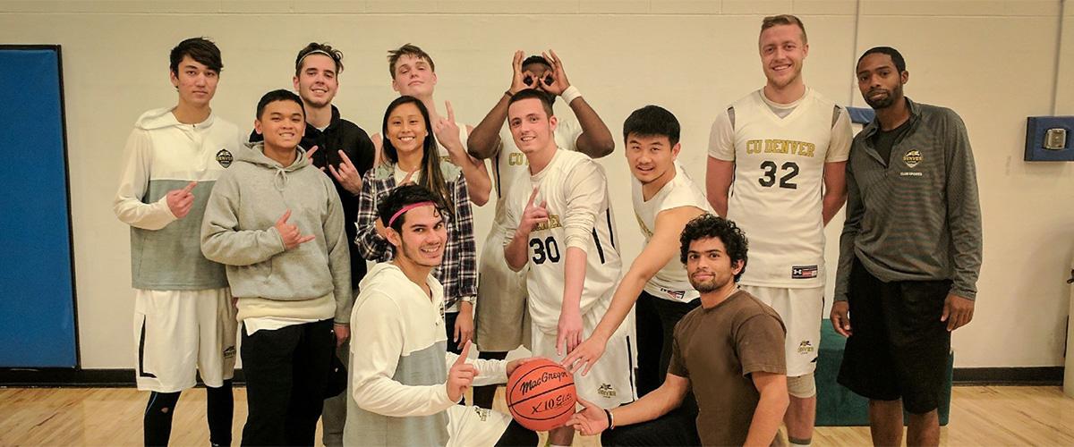 CU Denver Men's Club Basketball Team