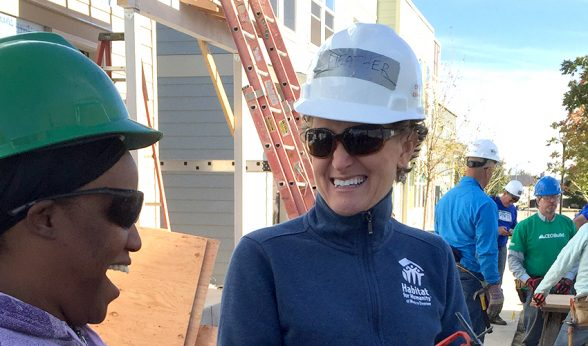 Habitat for Humanity for Metro Denver CEO Heather Lafferty