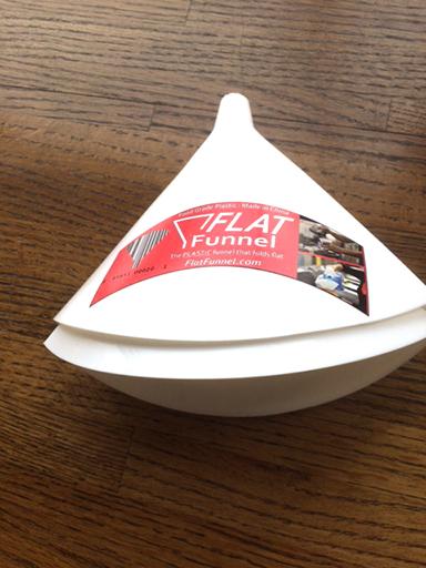 The flexible Flat Funnel by CU Denver grad Brice Woodlock