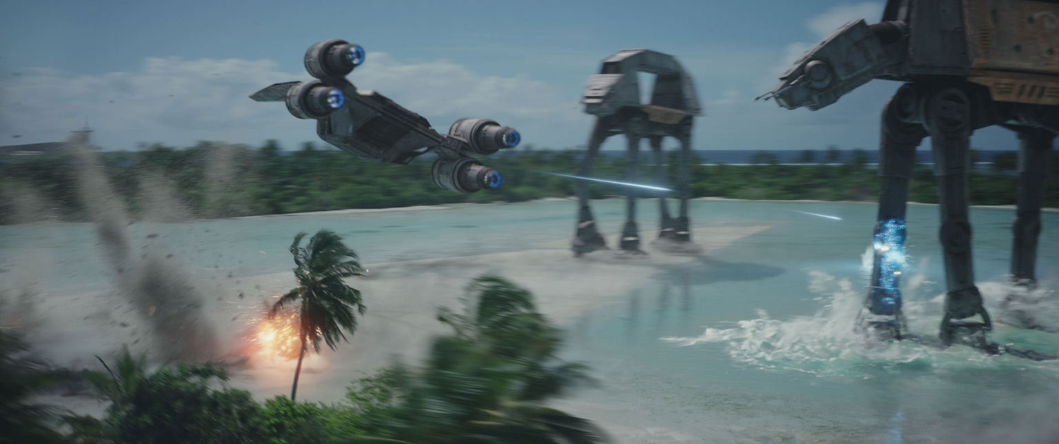 "Scene from ""Rogue One: A Star Wars Story"""