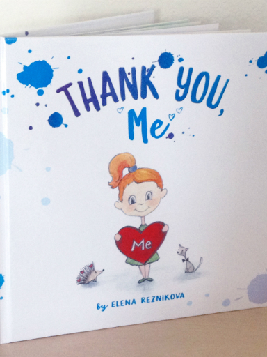 "Elena Reznikova's book, ""Thank You, Me"""