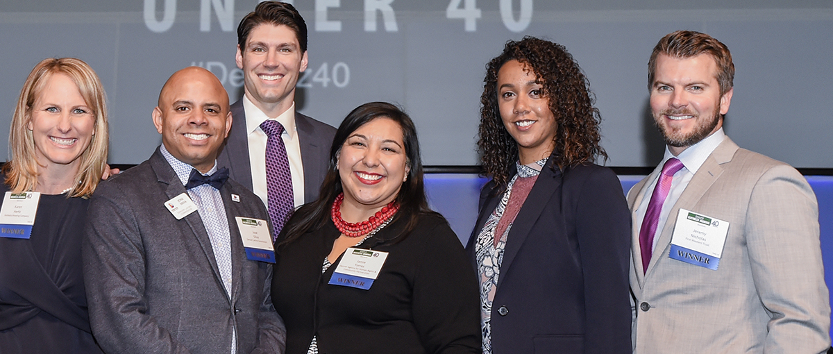 CU Denver 40 Under 40 group