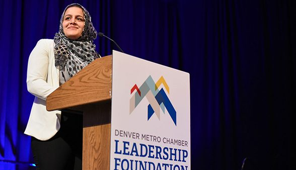 Nadeen Ibrahim at Leadership Foundation