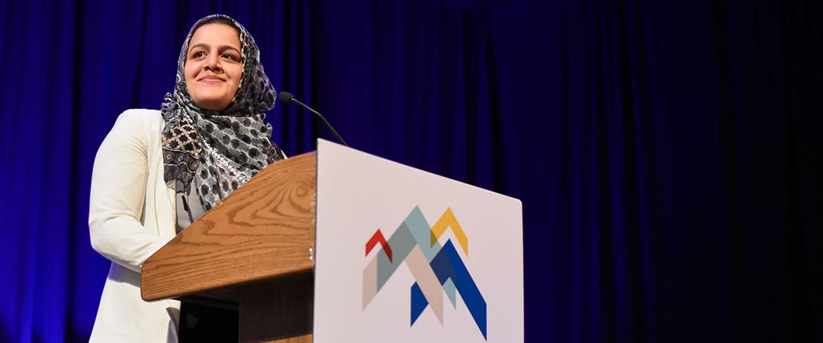 Nadeen Ibrahim at Leadership Foundation