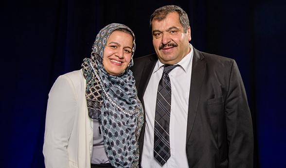 Nadeen and Muaatasem Ibrahim