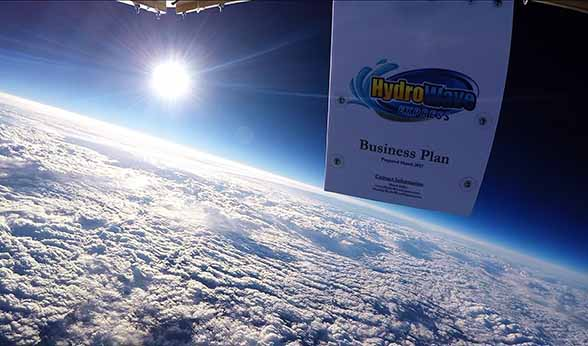 HydroWave business plan in space