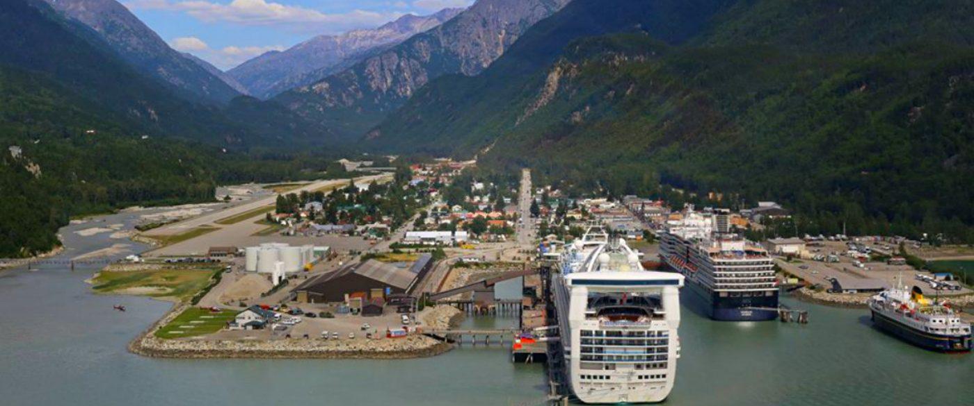 The historic city of Skagway, Alaska