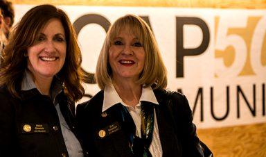 Regents Heidi Ganahl and Sue Sharkey