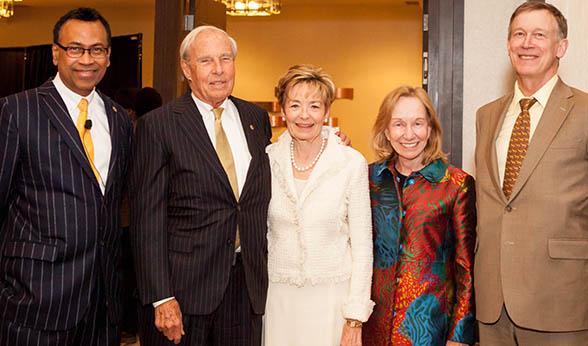Doris Kearns Goodwin, Gov. Hickenlooper and CU officials
