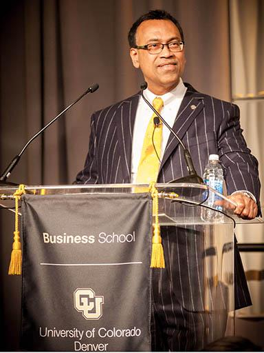 CU Denver Business School Dean Rohan Christie-David