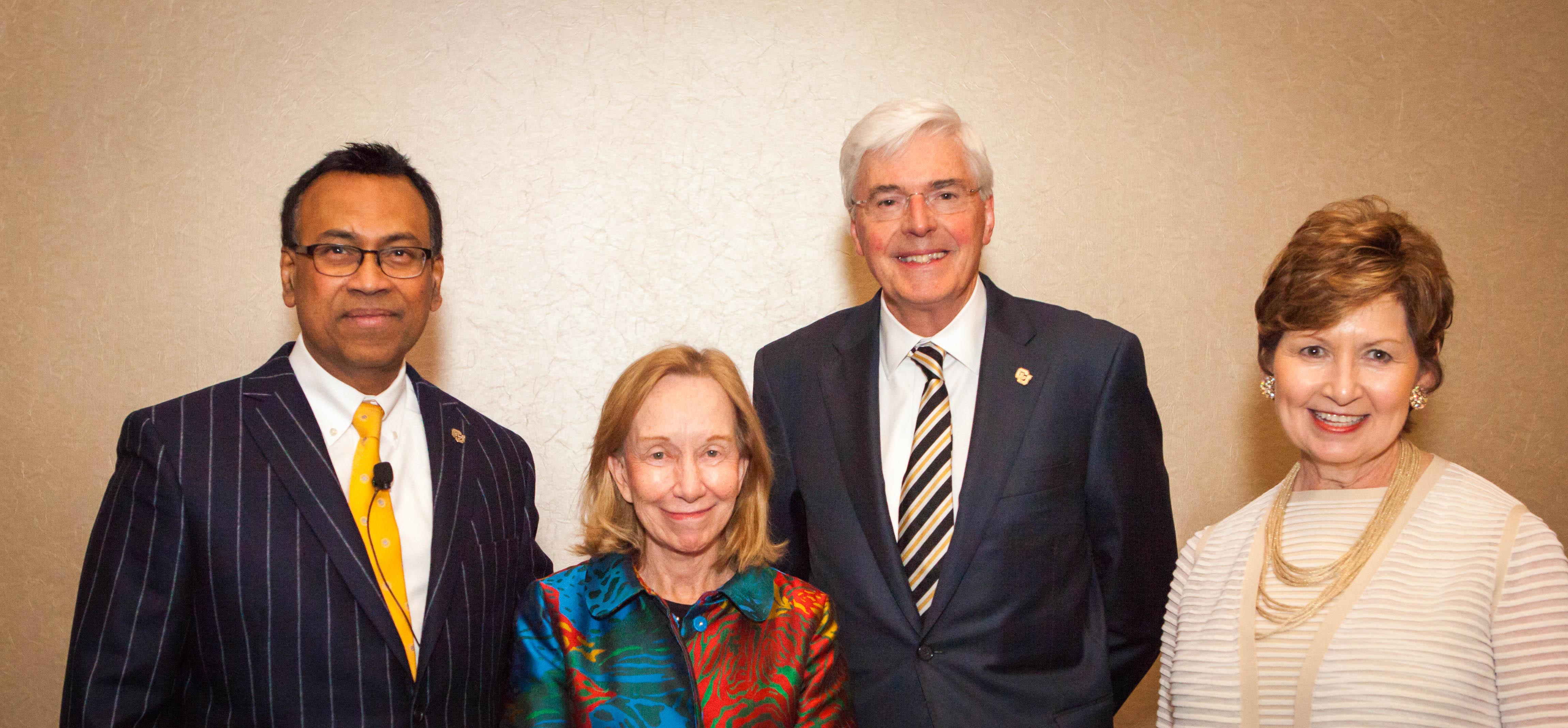 CU Denver leaders and Doris Kearns Goodwin