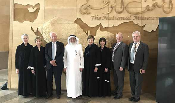 CU delegation visits National Museum of Saudi Arabia
