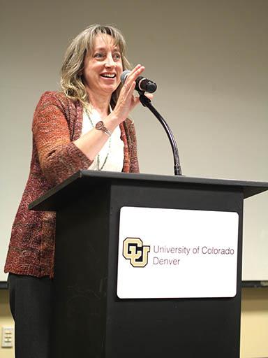 Timberley Roane of CU Denver