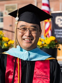 Sam Kim, Assistant Vice Chancellor for Student Retention and Success