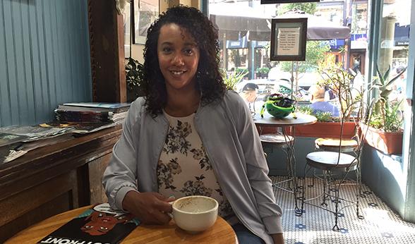 CU Denver alumna Danielle Shoots at The Market