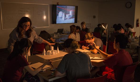 Classes and design studios were a prime focus of CU Denver's architecture camp.