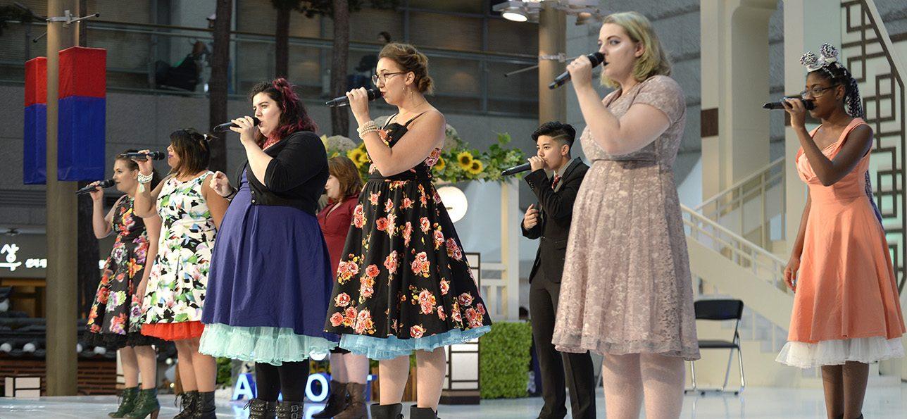 CU Denver singing group Lark